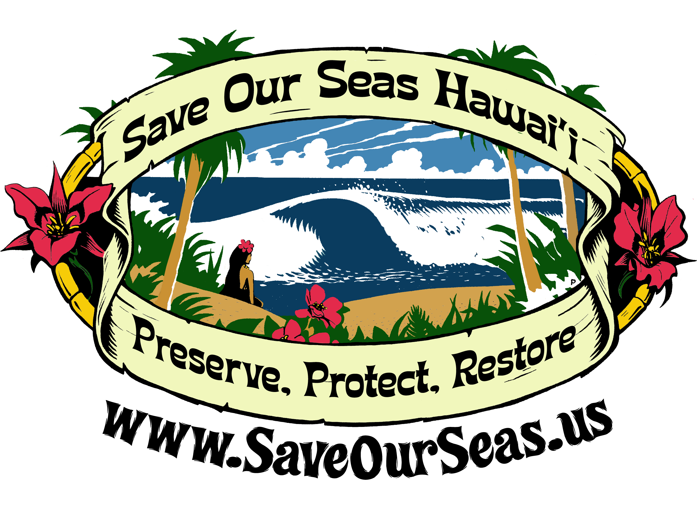 Save our seas hawaii preserve protect restore soshwahine sciox Image collections
